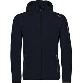 CMP Campagnolo 3H60847N Giacca In Pile Uomo, black blue/nero